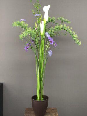 高い重点の花束